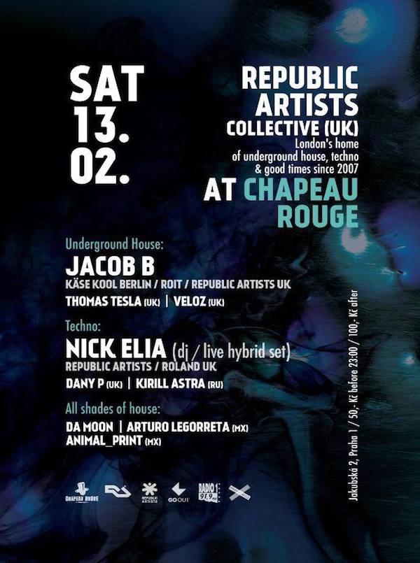 Nick Elia – Chapeau Rouge – 13.02.16