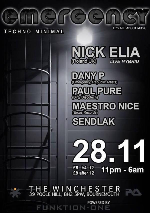 Nick Elia – Emergency