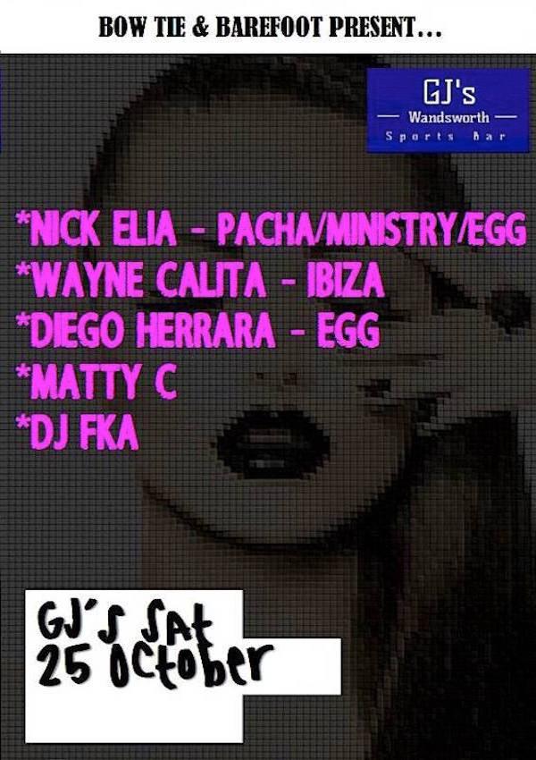 Nick Elia – GJ's