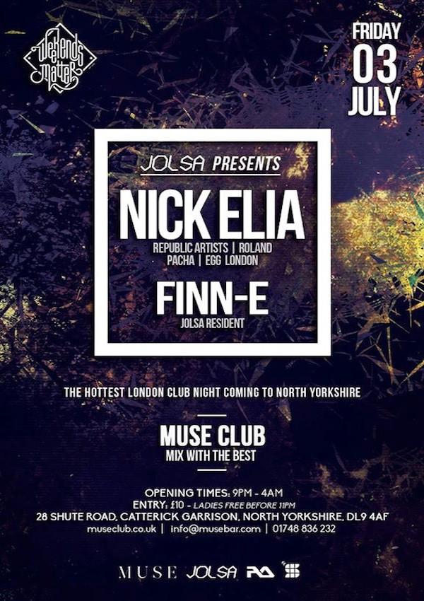 Nick Elia – Muse